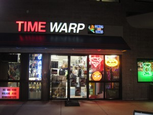 about time warp comics serving Denver and Boulder Metro Areas since 1984