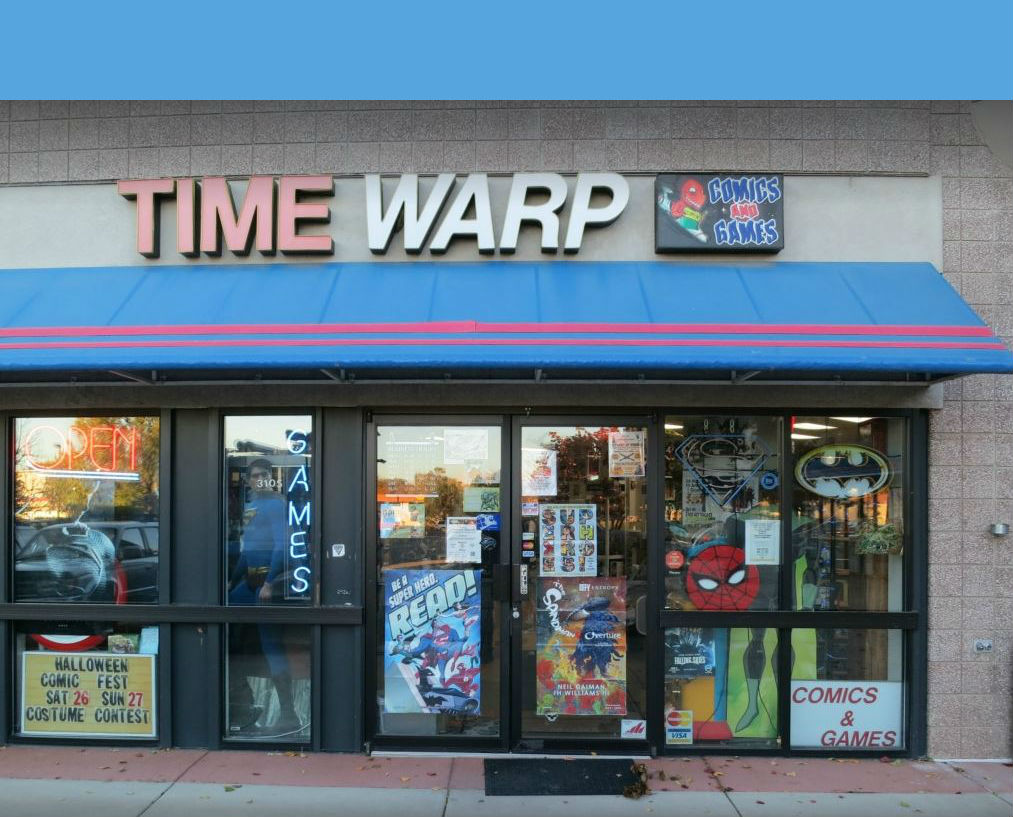 Contact Time Warp Comics, Comic Book Store serving Boulder & Denver