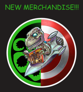 new merchandise at Time Warp Comics